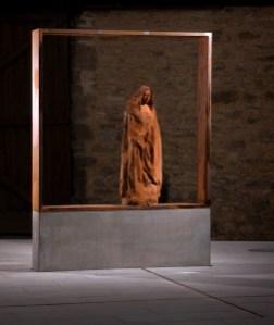 Franziska-Streitel-Skulptur, Entwurf von Karlheinz Oswald
