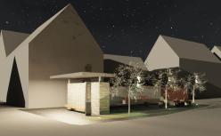 Stadt_Mellrichstadt-Dorfplatz_Bahra.rvt_2015-Jan-19_12-14-41-000_Kamera_Straße_Variante_3_BH_nacht