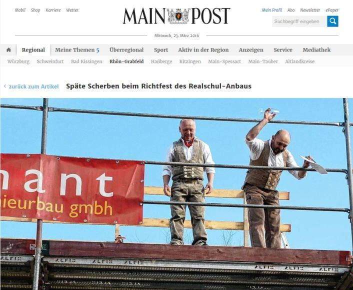 Richtfest-Mainpost