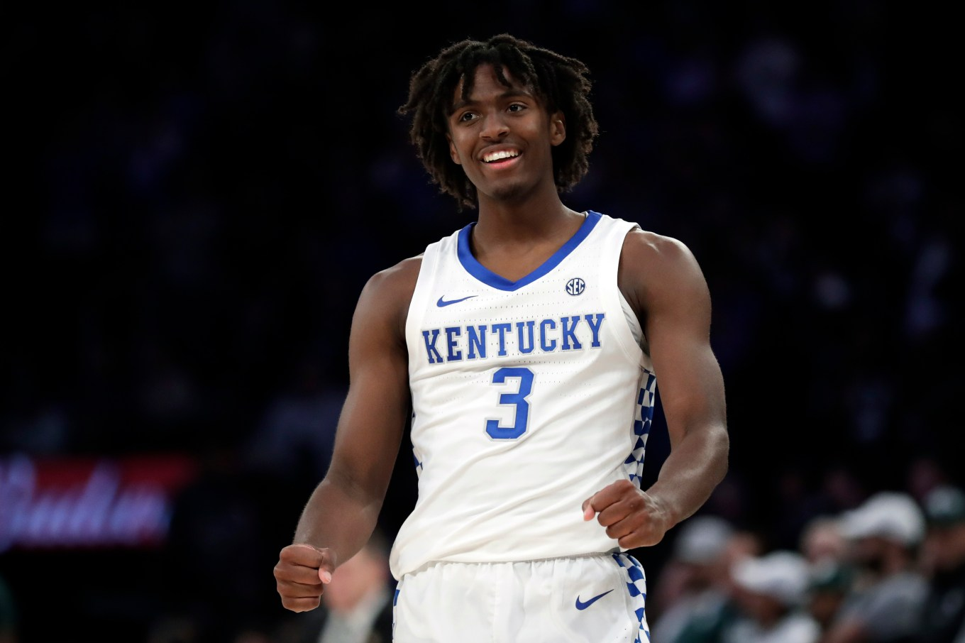 Maxey Leads Number 2 Kentucky Past No. 1 Michigan State 69-62 | WUKY