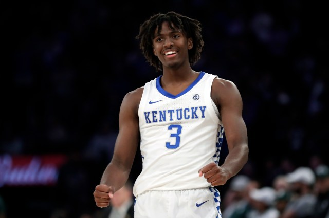 Maxey Leads Number 2 Kentucky Past No. 1 Michigan State 69-62   WUKY