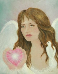 Angel Heart - copyright Bernadette Wulf