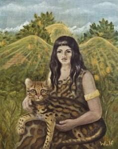 Aztec Angel - copyright Bernadette Wulf