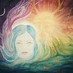New Moon - Goddess Awakes - copyright Bernadette Wulf