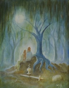Moonlight hallows - copyright Bernadette Wulf
