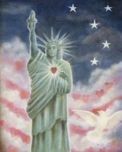 Heart of Liberty - copyright Bernadette Wulf