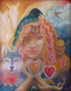 Shamanic Dream - copyright Bernadette Wulf