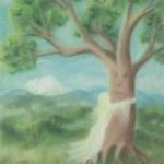 Tree Hugger - copyright Bernadette Wulf