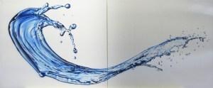 Wassertropfen Airbrushkünstler Franz Schmidt