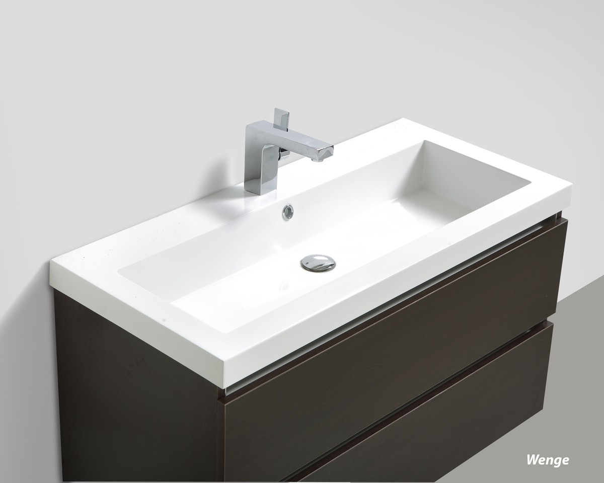 Badmobelset Soho 100cm Mit Waschtisch Unterschrank Und