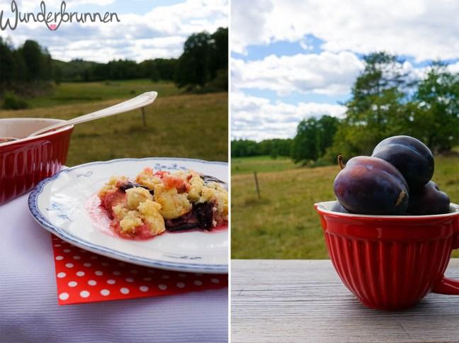 Zwetschgen-Crumble - Wunderbrunnen - Foodblog - Fotografie