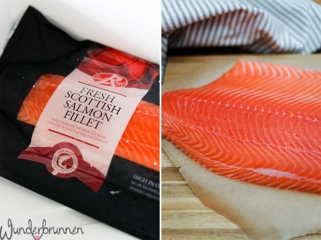 Schottischer Lachs Label Rouge - Wunderbrunnen - Foodblog - Fotografie