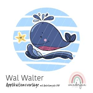 Applikation Vorlage PDF Wal Walter