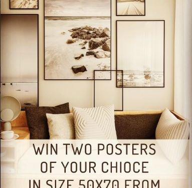 Win 2 posters in our Instagram – give away contest