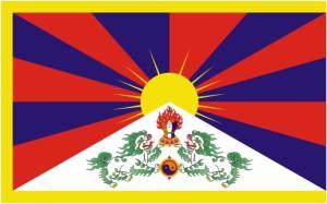 Flagge Tibets - Entwurf