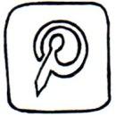 pinterest icon bullet journal - wundertastisch