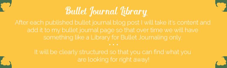 Bullet Journal Library - Wundertastisch