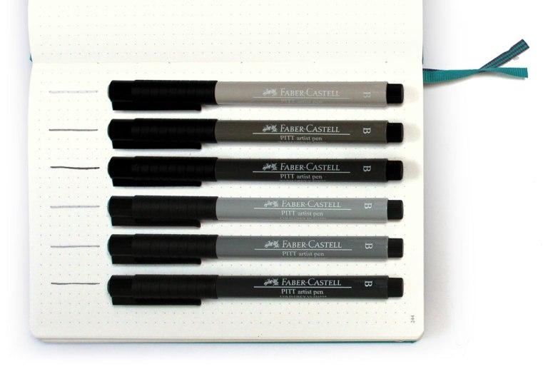 Faber-Castell PITT Artist Pens Review - Wundertastisch