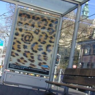 Mobilität: Plakat für VBZ Traffic Media