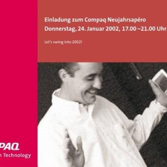 IT Computer: B2B Eventeinladung für Compaq