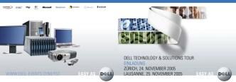 IT Computer: Einladungsmailing zur Technology & Solutions Tour von Dell Computer