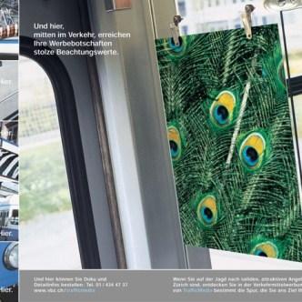 Mobilität: Werbemittel-Broschüre für VBZ Trafficmedia