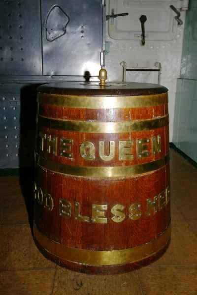 Rum ration, HMS Cavalier