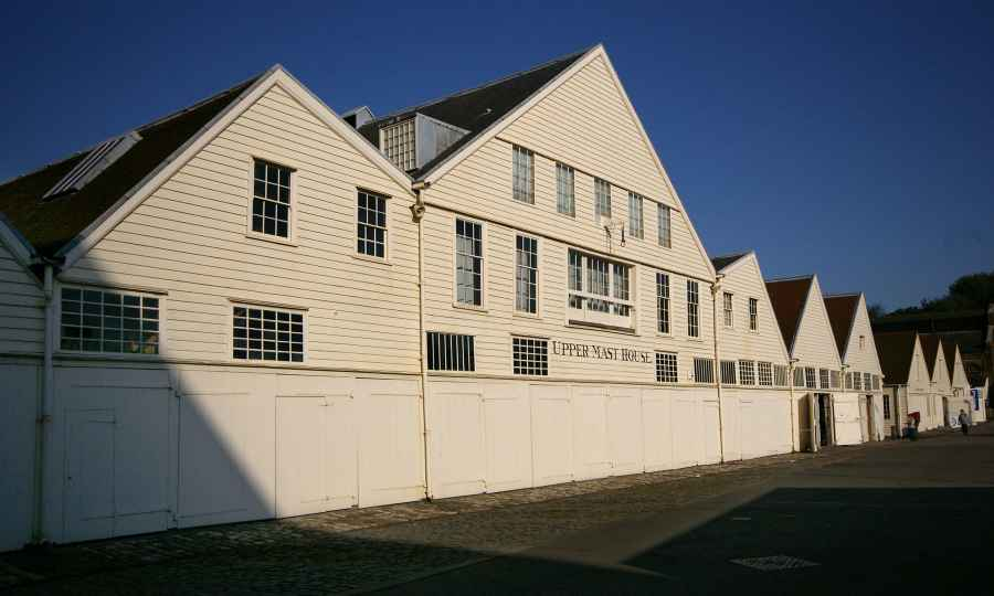 Upper Mast House, Historic Dockyard, Chatham