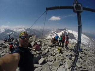 Gipfel Hoher Riffler