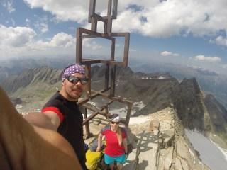 Großer Angelus - Gipfelkreuz