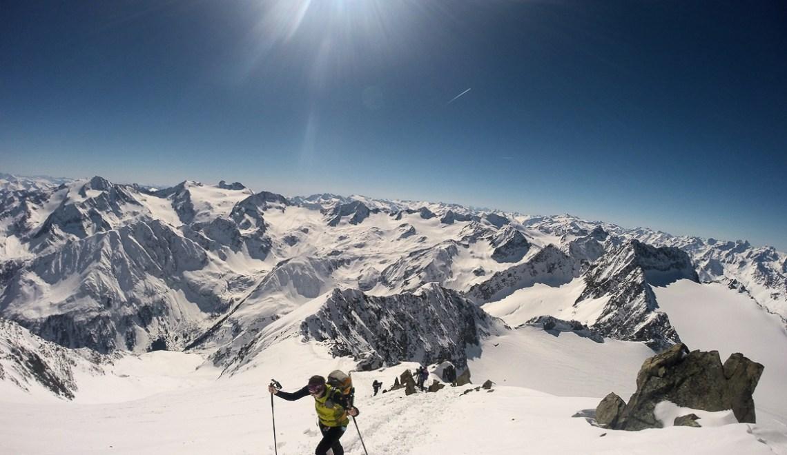 Ruderhofspitze (3473m) – ein Grat der nie endet, was für ein Grat
