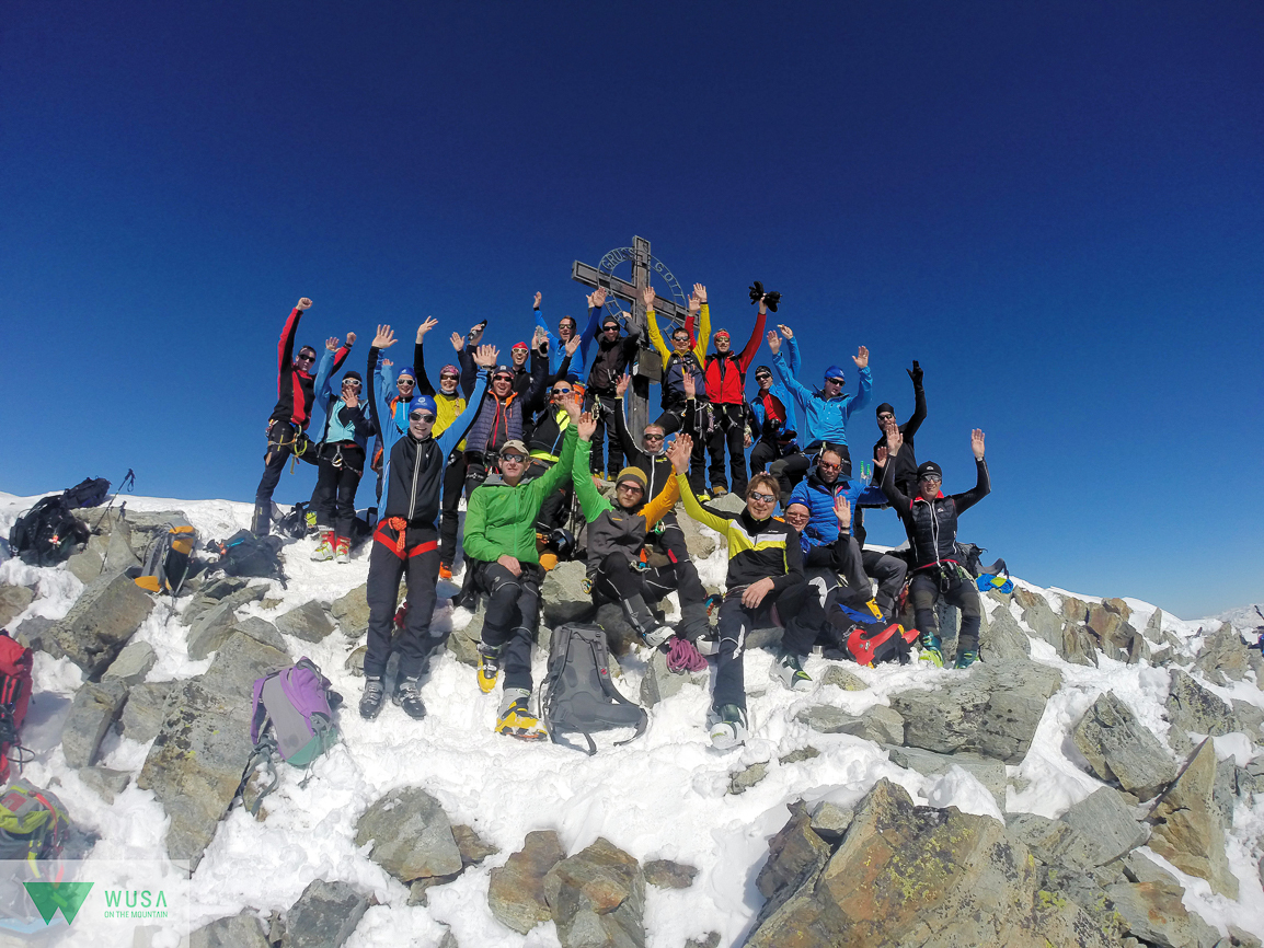 Gipfel der Ruderhofspitze