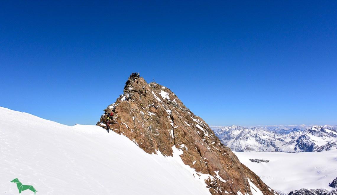 Weißseespitze (3526m) und Weißkugel (3738m) – ein Wochenende der Wetterextreme