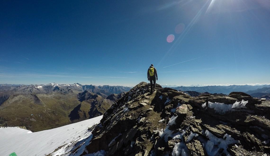 Schareck (3123m) Überschreitung – mit einigen Zugaben