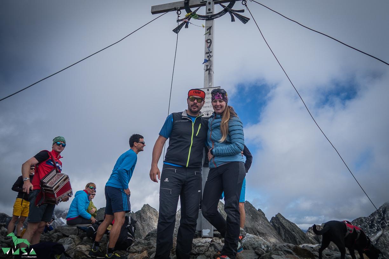 Am Gipfel Keeskopf in der Schobergruppe