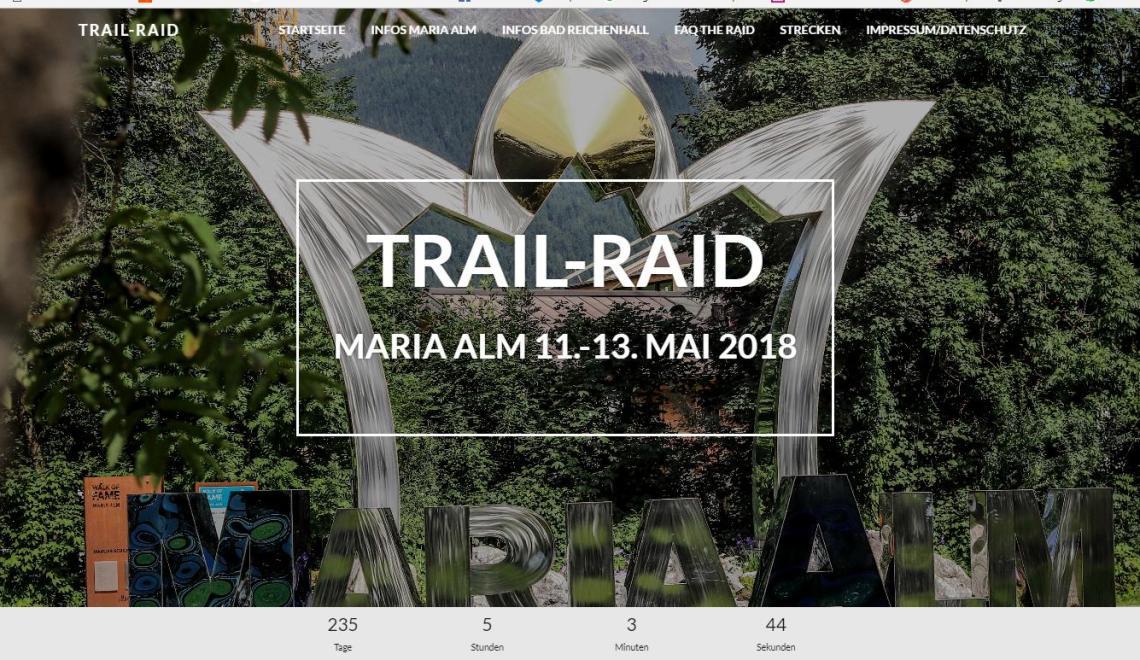 Trail Raid Vol.2 – Community Run und ein bisschen Wettkampf