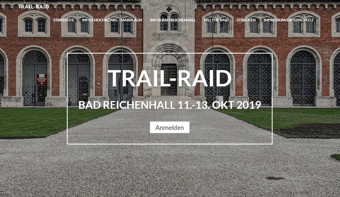 Trail Raid Vol.3 – Community Run und ein bisschen Wettkampf