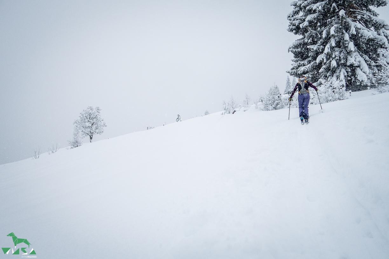 Sabrina und viel Schnee