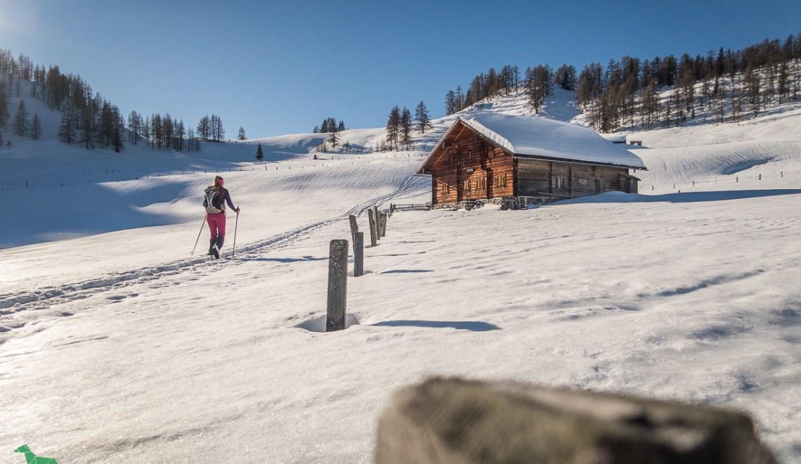 Skitour Lackenkogel (2051m) – Schnee in jeder Bestandsform