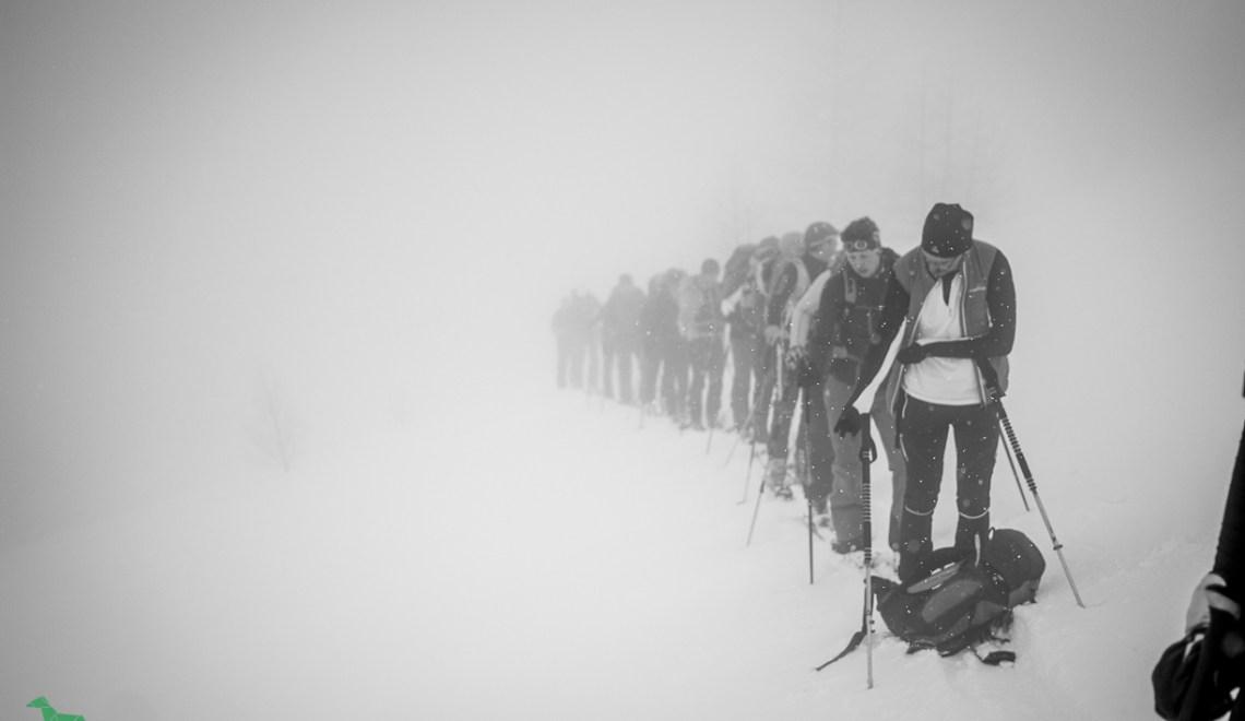 AV Werfen Skitourentag – im Whiteout auf die Felskarspitze (2506m)