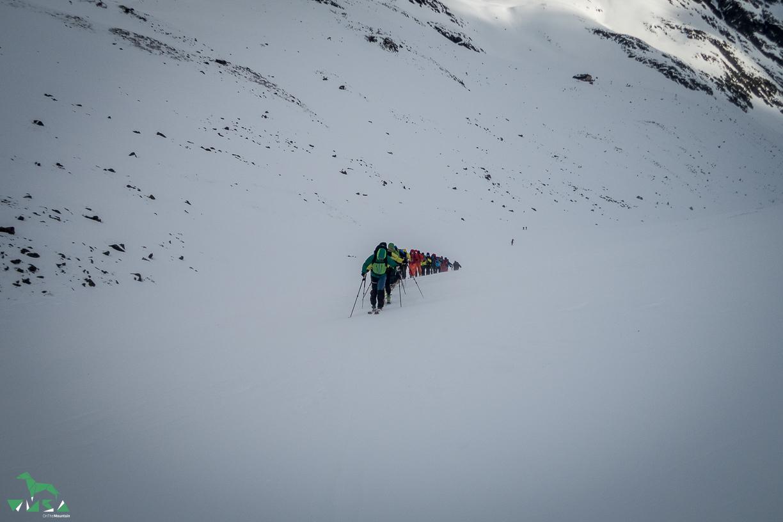 Skitouren Sellrain: Gute Zeit.