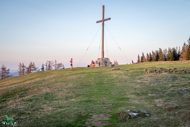 Gipfel Schöckl (1445m) am 21.04.2018