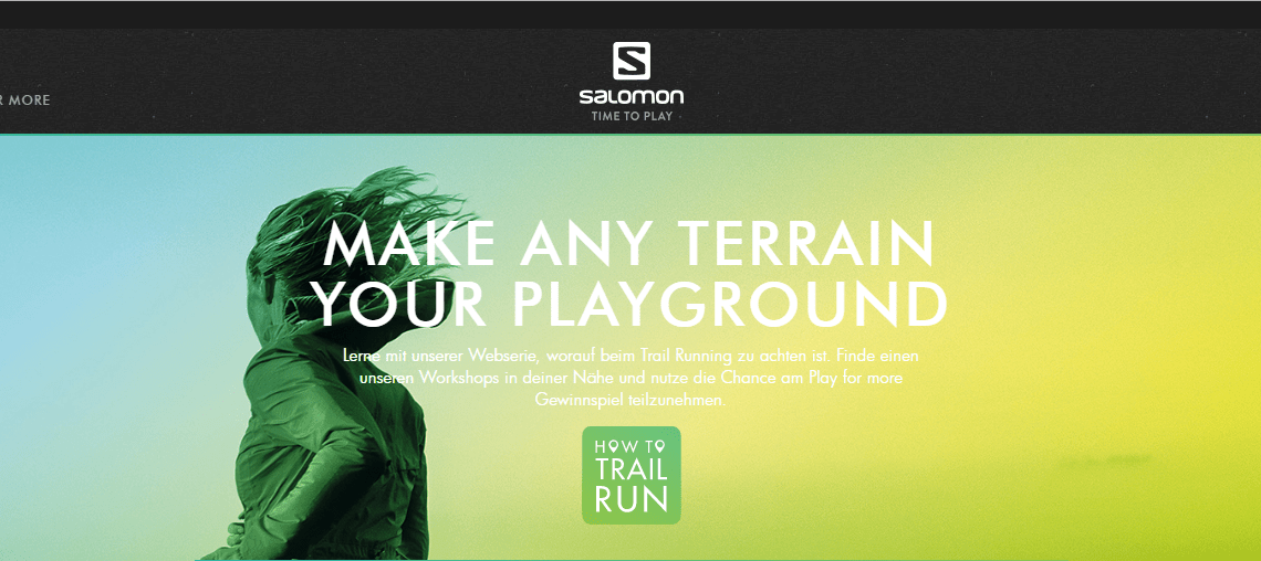 How to Trail Run – Salomon Workshops und Sportstracker App