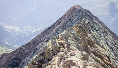 Grat der Kreuzspitze in Osttirol.