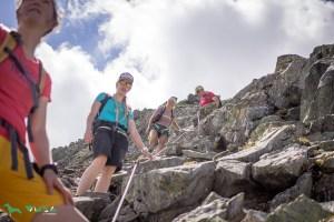 Abstieg von der Tulpspitze