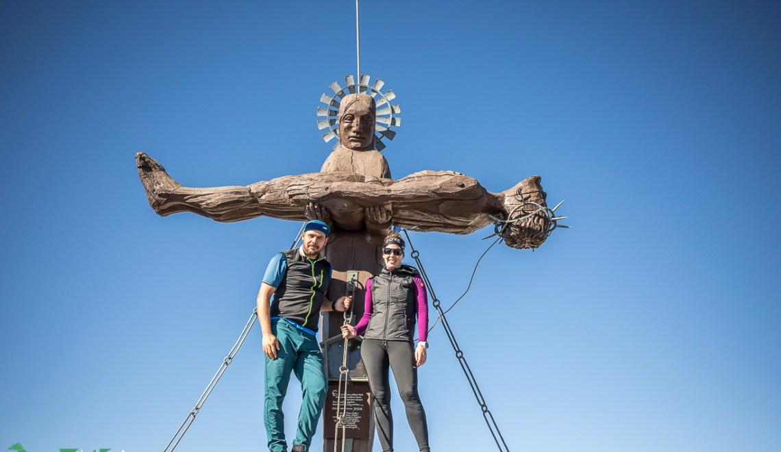 Steinernes Meer: Die Schönfeldspitze und ihr Gipfelkreuz