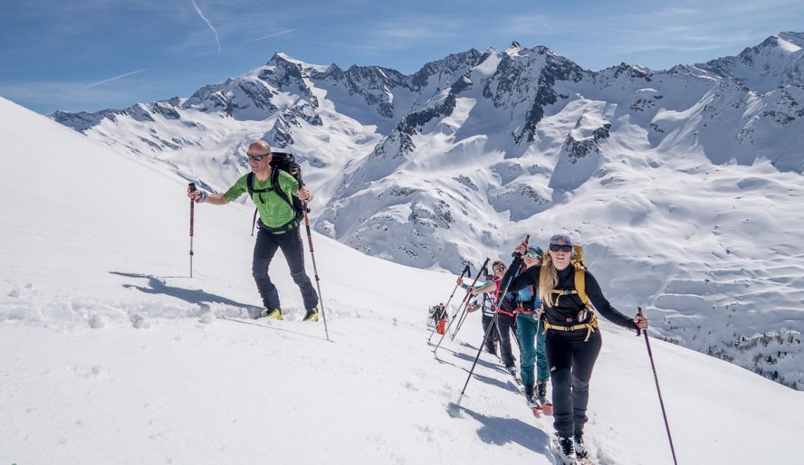 Skitouren im Tauferer Ahrntal – Winter und Sommer zur gleichen Zeit
