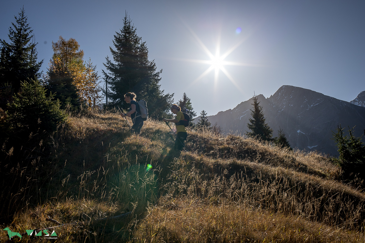 Traumhaftes Herbstwetter am Imbachhorn