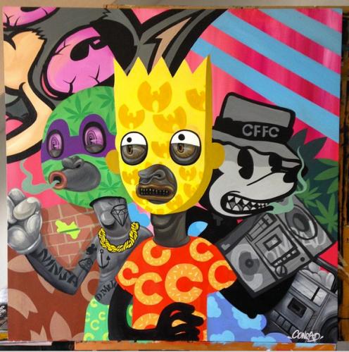 Conrad Florez – Urban Artist – Lima, Peru