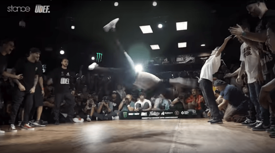 Best power bboys & rounds of the past year. Insane!